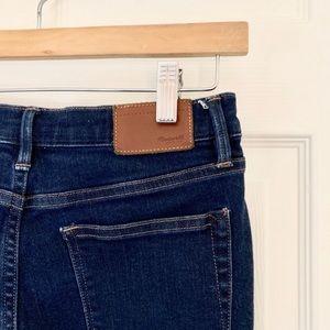 Madewell skinny skinny dark wash jeans size 26